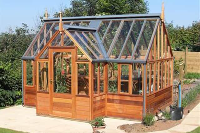 serre structure bois