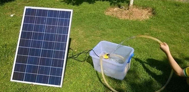 pompe a eau solaire arrosage