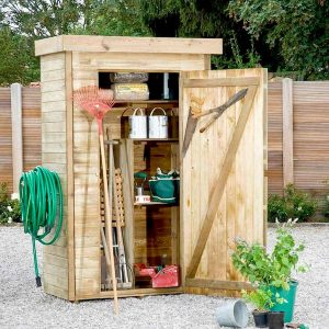 acheter une armoire de jardin en bois